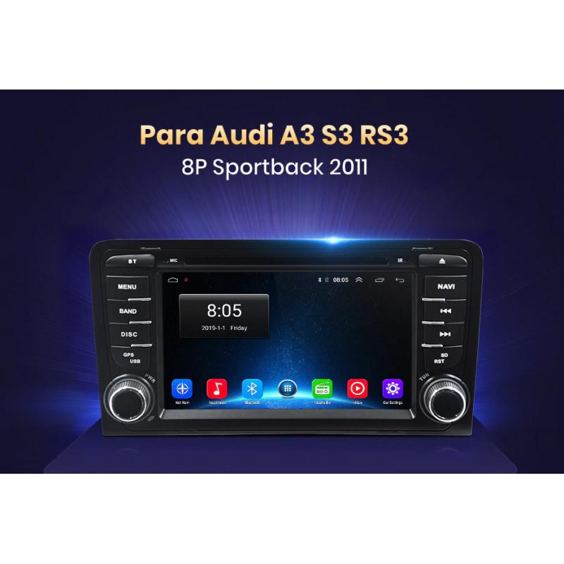 Equipo Multimedia para Audi A3 S3 8p sportback (2006-2012 ...